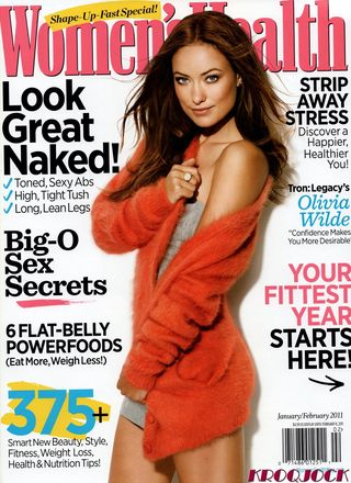 Olivia Wilde Womens Healthy JanFeb 2011